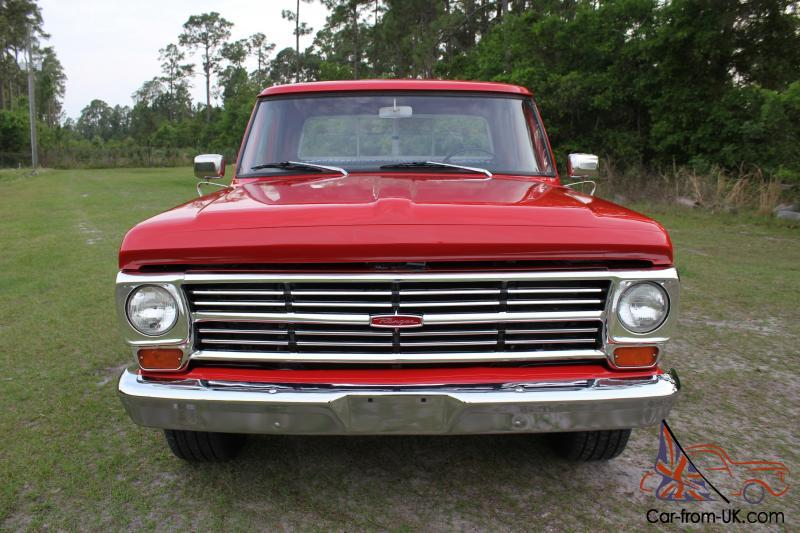 1967 ford f100 ranger pickup truck 352 f 100 must see call now. Black Bedroom Furniture Sets. Home Design Ideas