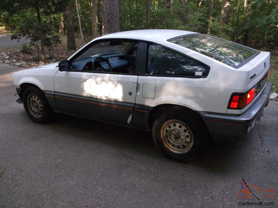 1985 honda crx hatchback hf 5 speed a c 78980 miles. Black Bedroom Furniture Sets. Home Design Ideas