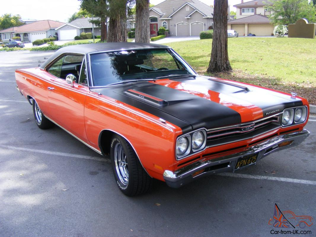 1969 plymouth gtx clone numbers matching original beauty. Black Bedroom Furniture Sets. Home Design Ideas