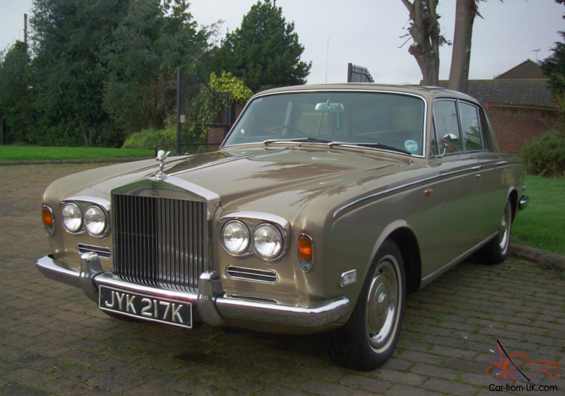 lovely 1972 rolls royce silver shadow 1 full history tax. Black Bedroom Furniture Sets. Home Design Ideas
