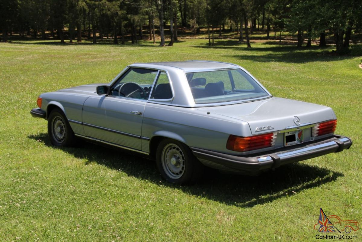 1980 mercedes benz 450sl roadster convertible r107 for 1980s mercedes benz