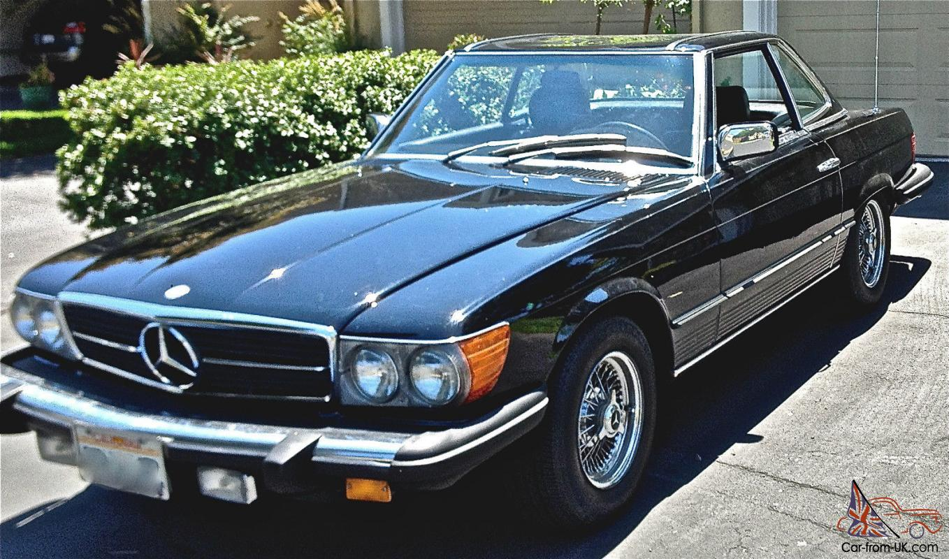 1980 mercedes 450sl convertible for 1980s mercedes benz