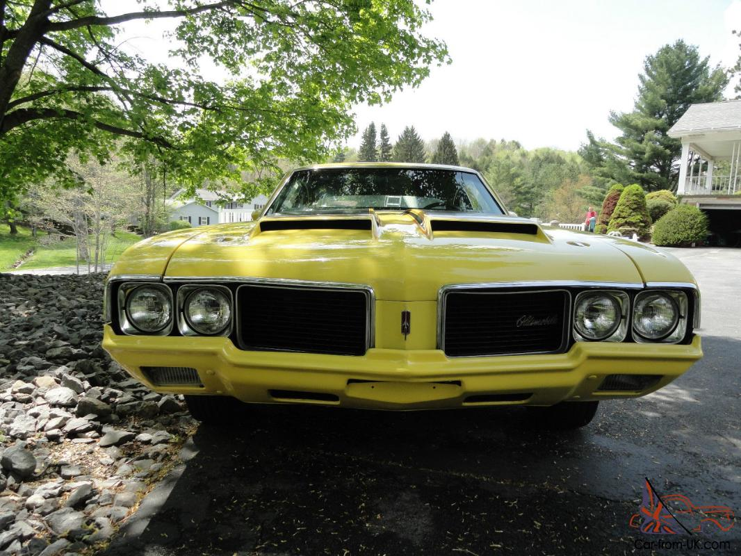Purchase used 1970 oldsmobile cutlass w31 post coupe 1 of 116 built - F 85 Rallye 350 W 31