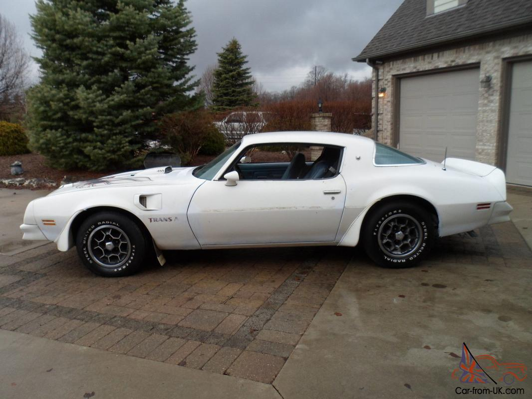 1976 trans am 455 4 spd 41k org miles loaded barn find. Black Bedroom Furniture Sets. Home Design Ideas