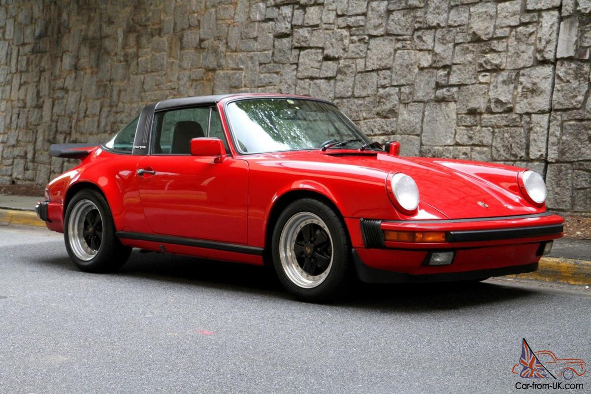 1987 porsche 911 carrera g50 targa orginial paint rebuilt 3 2 with records. Black Bedroom Furniture Sets. Home Design Ideas