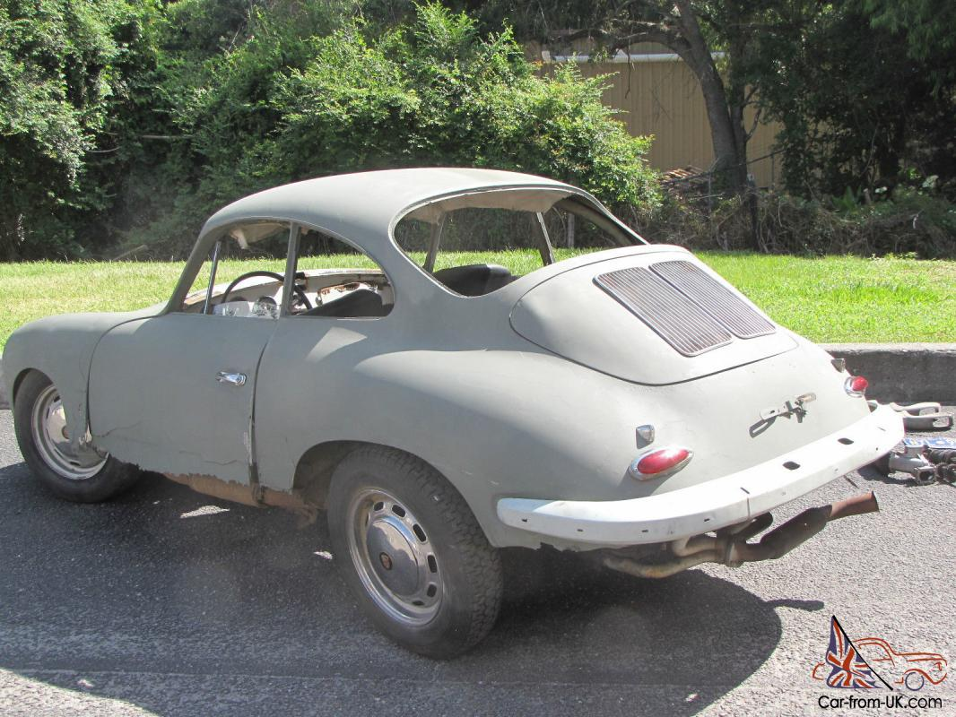Porsche 356 C Coupe Needs Restoration Not A Kit Car Like