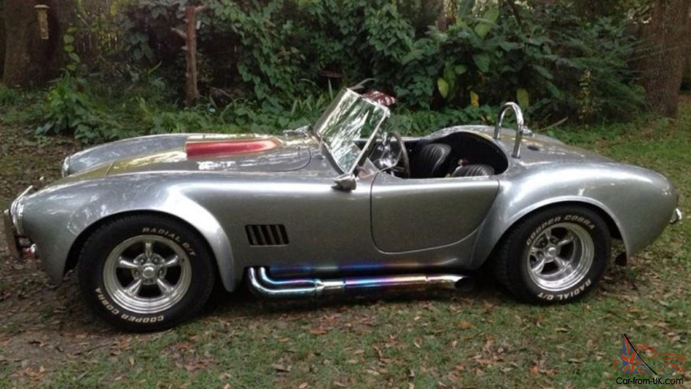 1966 427 shelby cobra replica shell valley 460 c6 6333 miles with hard top photo