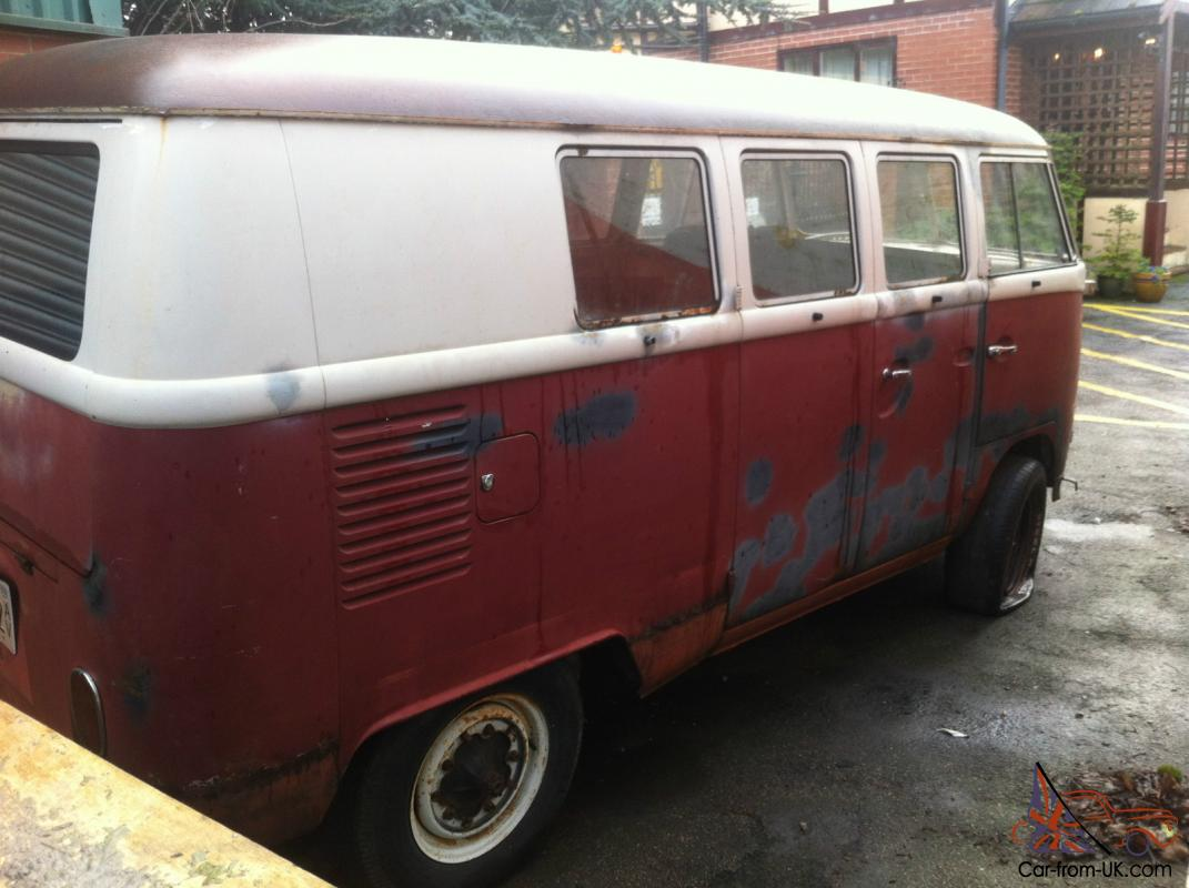 Vw splitscreen van bus camper 1966 11 window kombi for 11 window vw bus