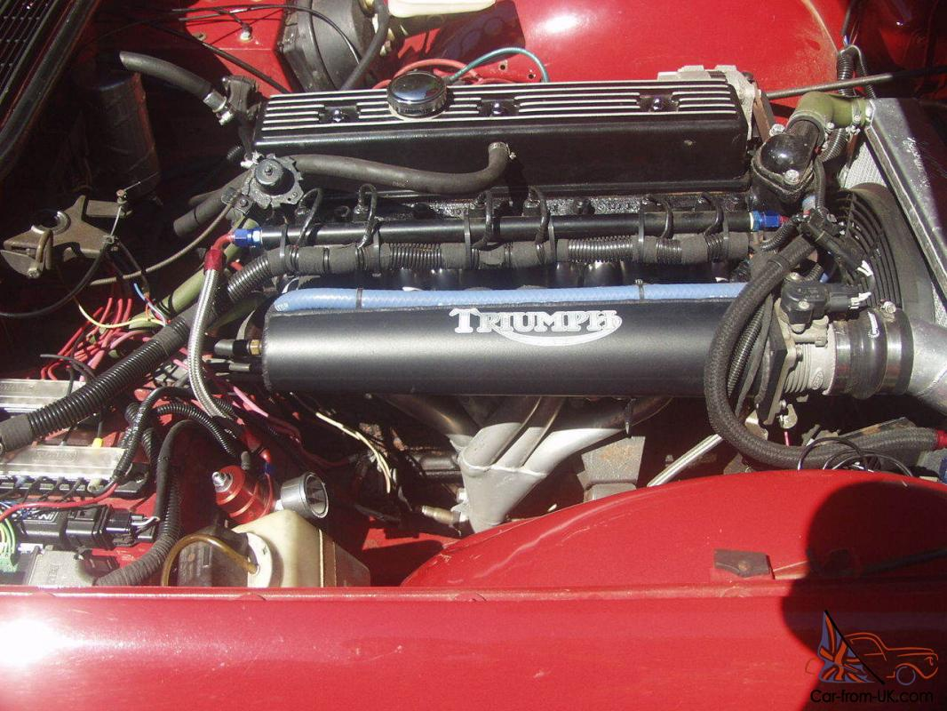 1973 Triumph Tr6 Msii Fuel Injection 160hp Engine Fast