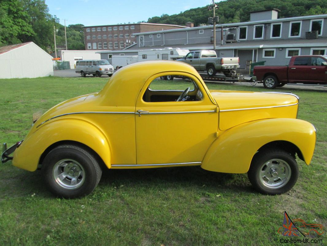 1941 Willys Coupe Steel Car