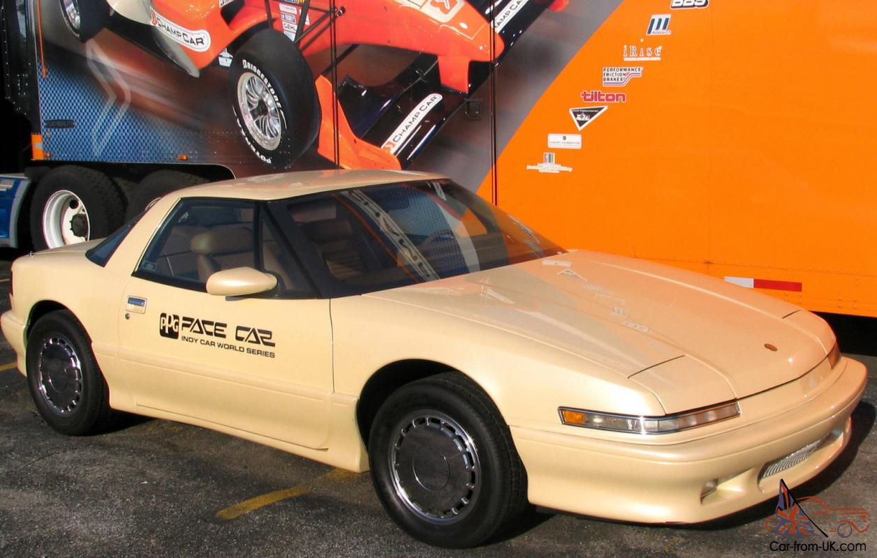 1988 buick reatta ppg champcar indy pace car only 1 made 11 994 miles. Black Bedroom Furniture Sets. Home Design Ideas