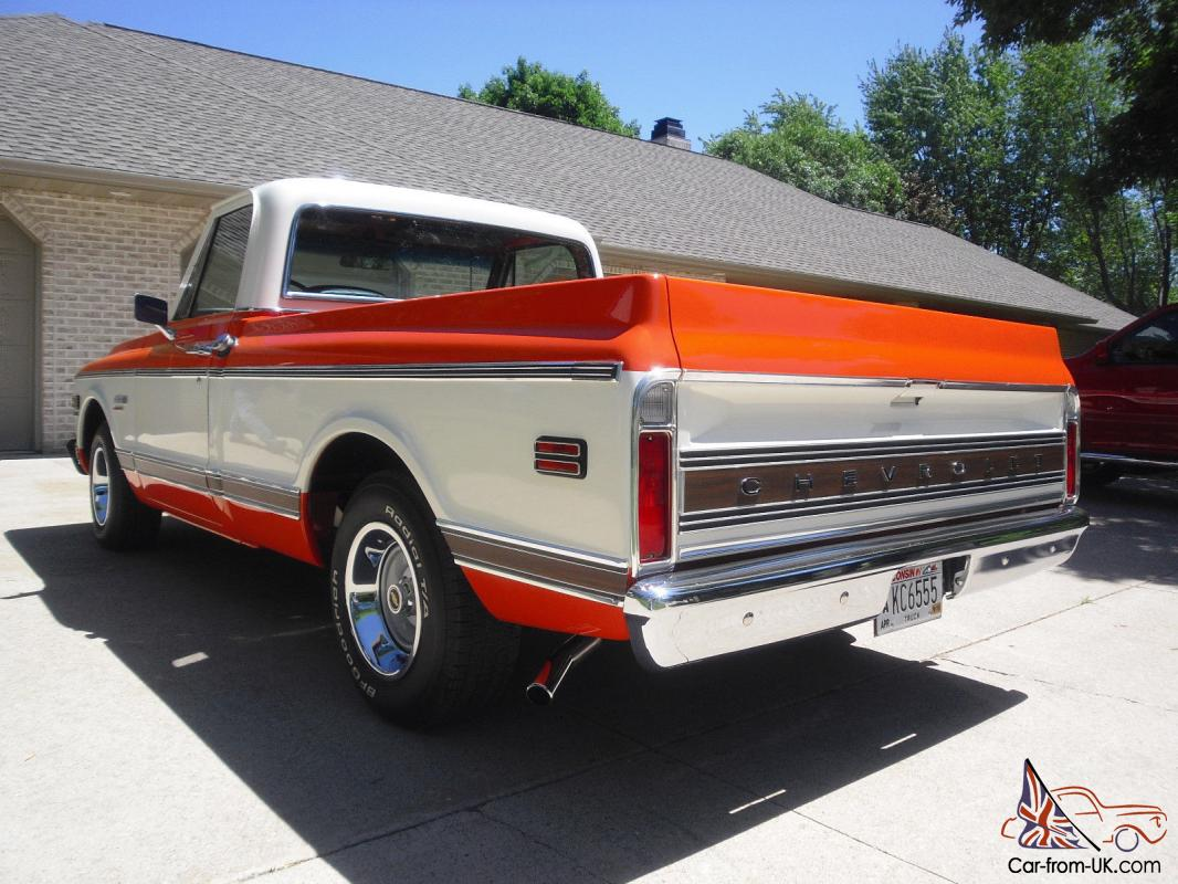 1972 chevrolet cheyenne super for sale
