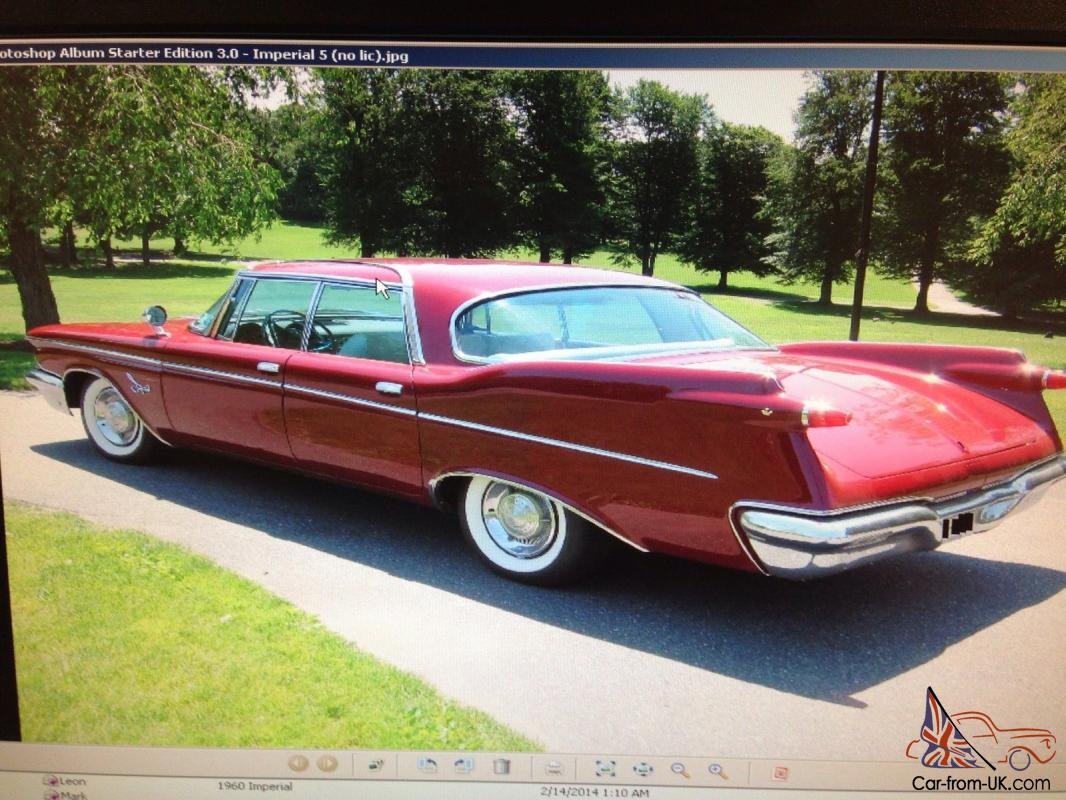 1960 chrysler imperial crown 6 8l for sale. Cars Review. Best American Auto & Cars Review
