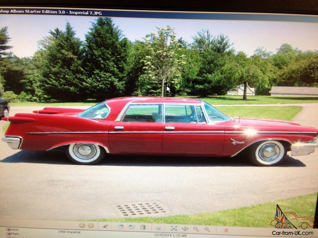 1960 chrysler imperial crown 6 8l. Cars Review. Best American Auto & Cars Review