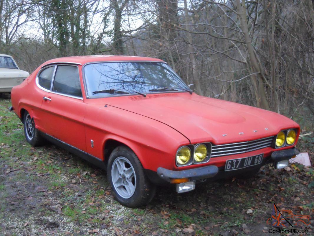 ford capri rs 2600 1973 for restauration. Black Bedroom Furniture Sets. Home Design Ideas