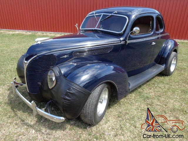 1938 ford 2 door coupe hot rat street rod custom real for 1938 ford 2 door coupe