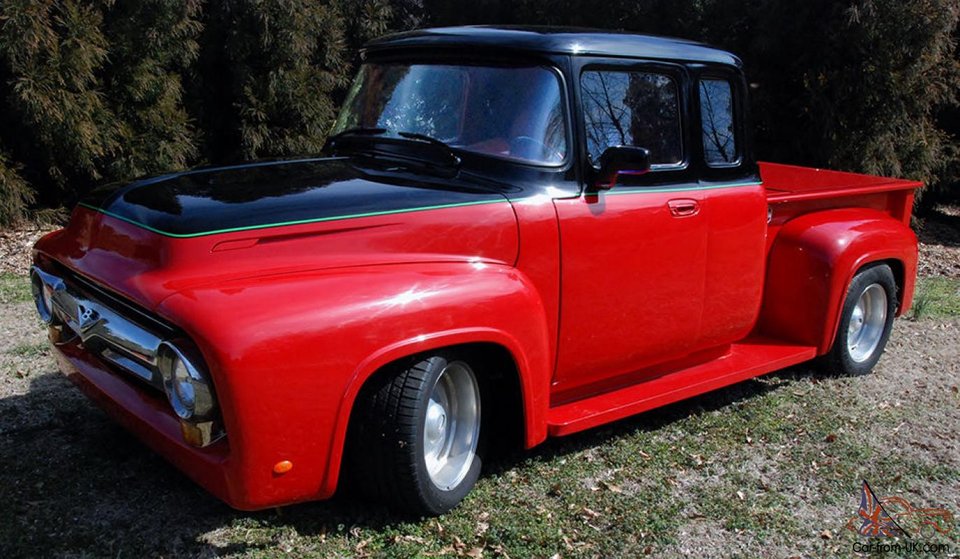 1956 Ford F100 Extended Cab Hotrod Street Machine Joy
