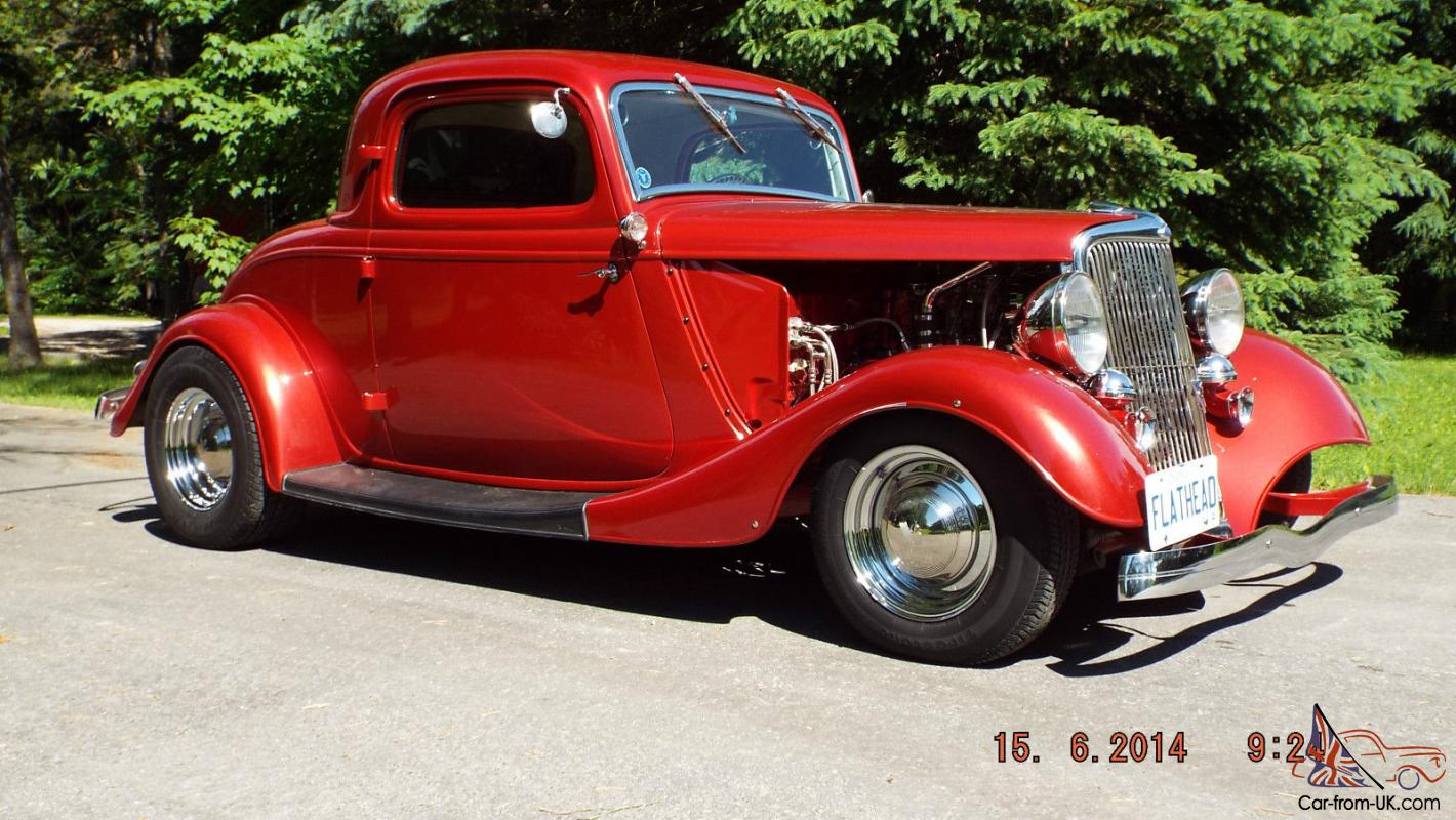 1934 ford steel 3 window coupe v 8 flat head hot rod for 1934 ford 3 window coupe for sale in canada