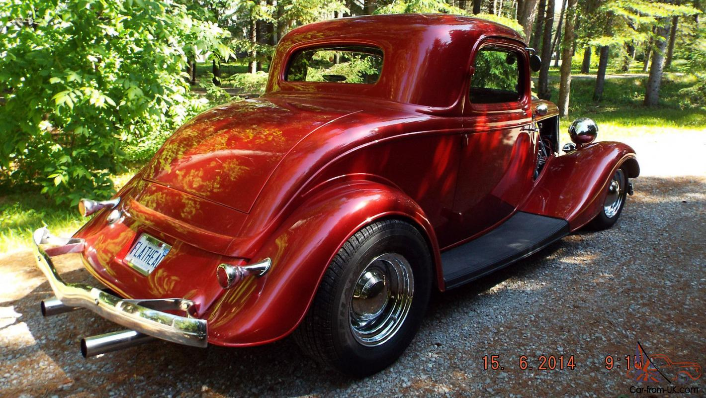1934 ford steel 3 window coupe v 8 flat head hot rod for 1934 ford 3 window coupe pictures