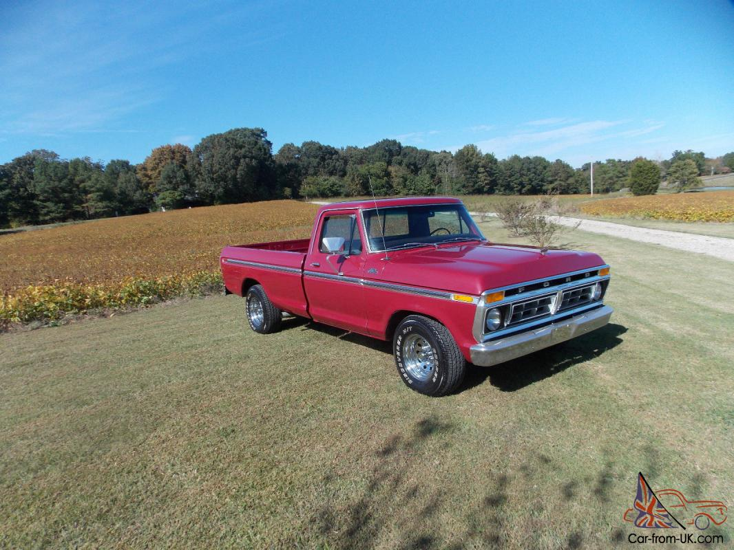 1977 ford f150 ranger long bed 460 engine for F150 motor for sale