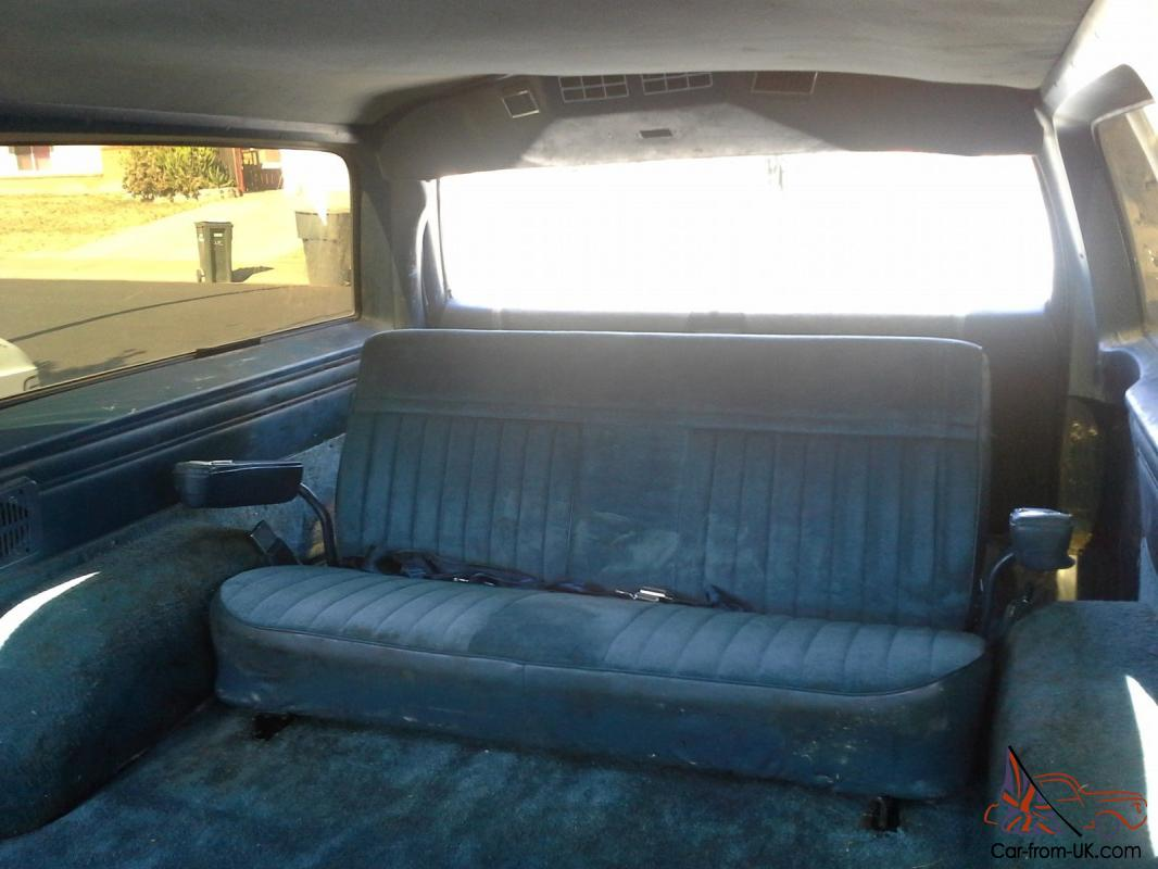 Vehicles With 3rd Row Seating >> 1986 GMC Suburban 2500 4x4 DIESEL Sierra Classic 6.2L K25 3/4 ton 3 Row Seating