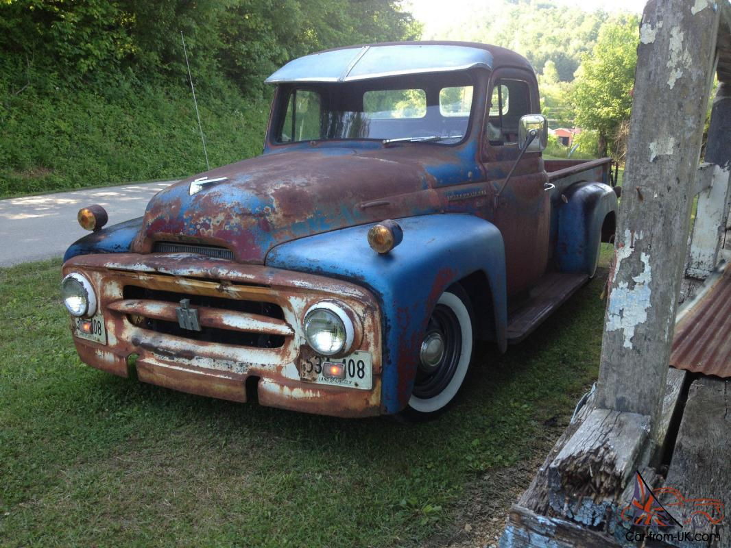 1953 International pickup R110 newer chassis AC/AUTO/CRUSE ...