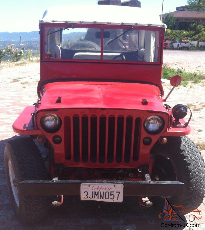 1941 Willys Jeep MB; Assembled From NOS Parts In 1979