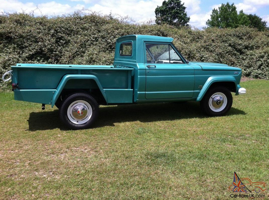 Classic 1964 Gladiator Pickup Truck Thriftside Bed 4x4 Tornado 6