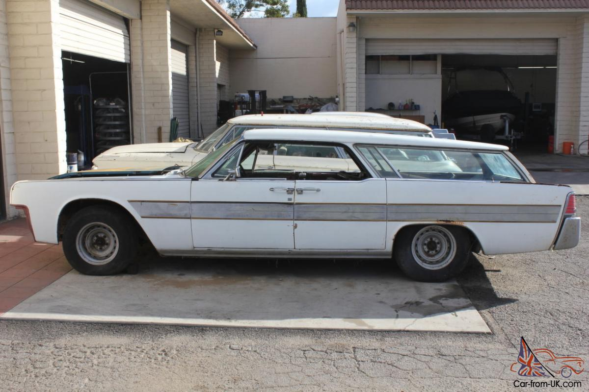 1962 Lincoln Continental Coachbuilt Station Wagon By Flm