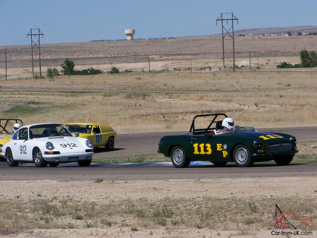 MGB Race Car