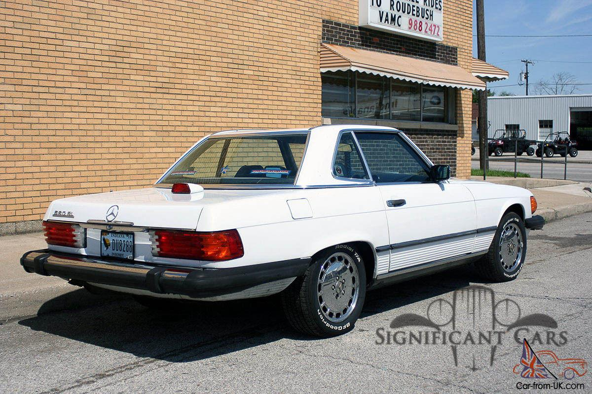 1987 mercedes benz 560sl nice example for Nice mercedes benz cars