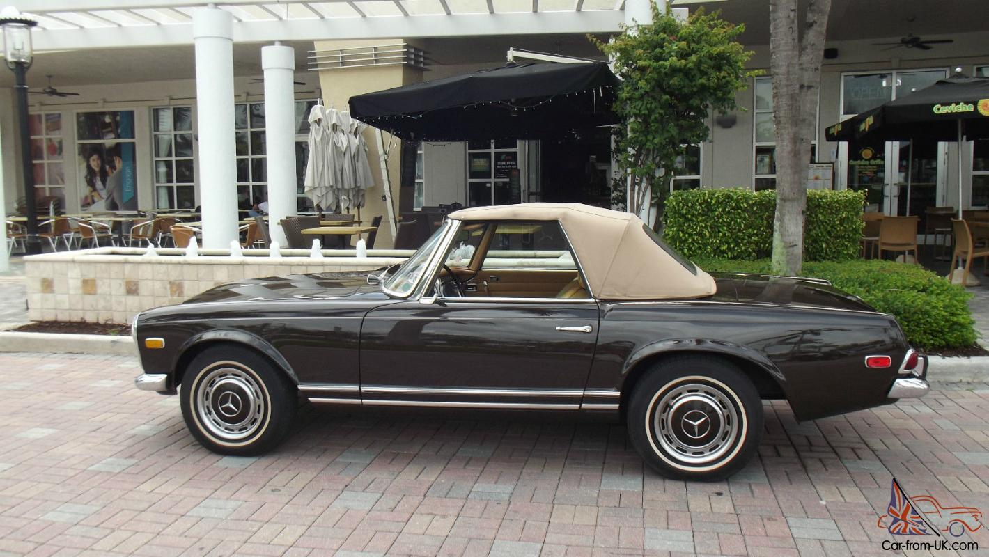 1969 mercedes benz 280 sl like new in and out two tops for Mercedes benz 1969