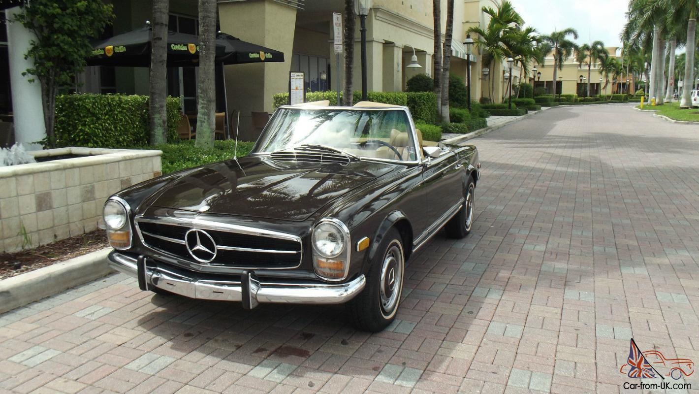 1969 mercedes benz 280 sl like new in and out two tops for 1969 mercedes benz