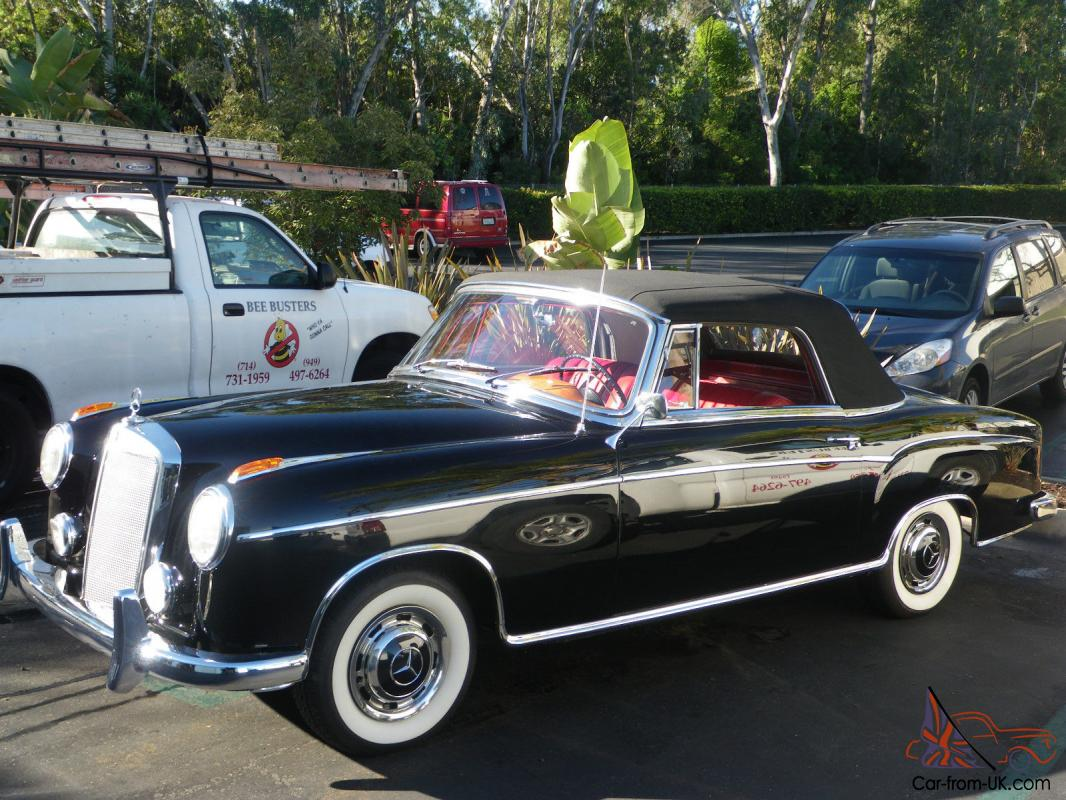Classic mercedes 220 se 1960 for Classic mercedes benz for sale ebay