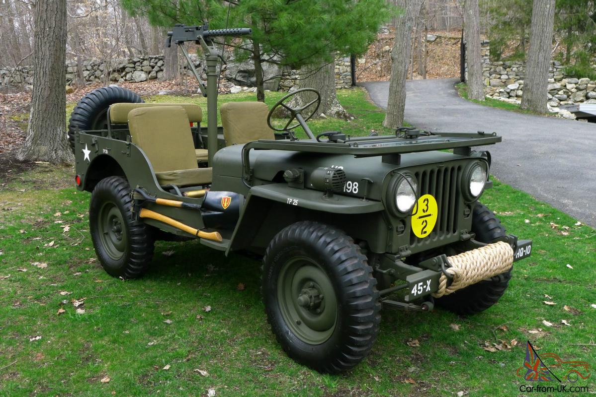 M38 Jeep For Sale >> 1951 Willys M38 - FULLY RESTORED ANTIQUE ARMY / MILITARY JEEP - AMERICAN CLASSIC