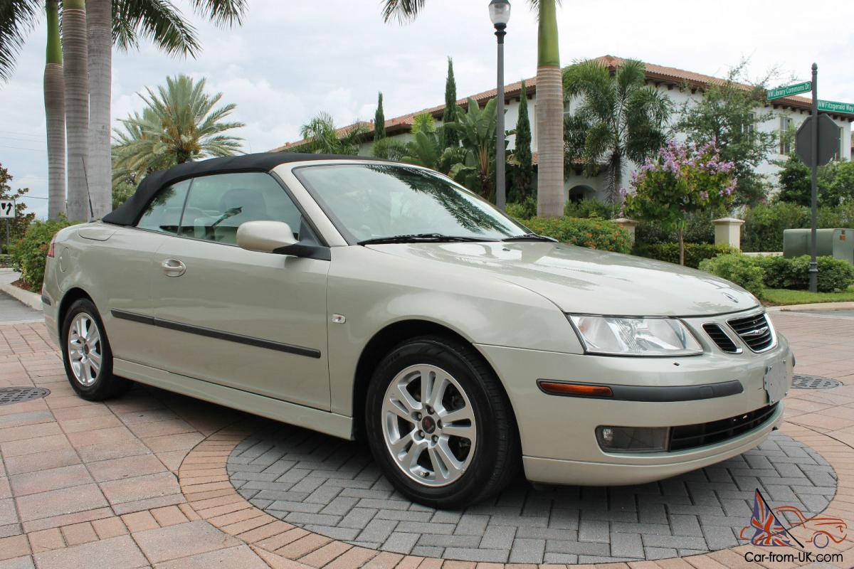 2006 saab 9 3 turbo arc convertible low mileage. Black Bedroom Furniture Sets. Home Design Ideas