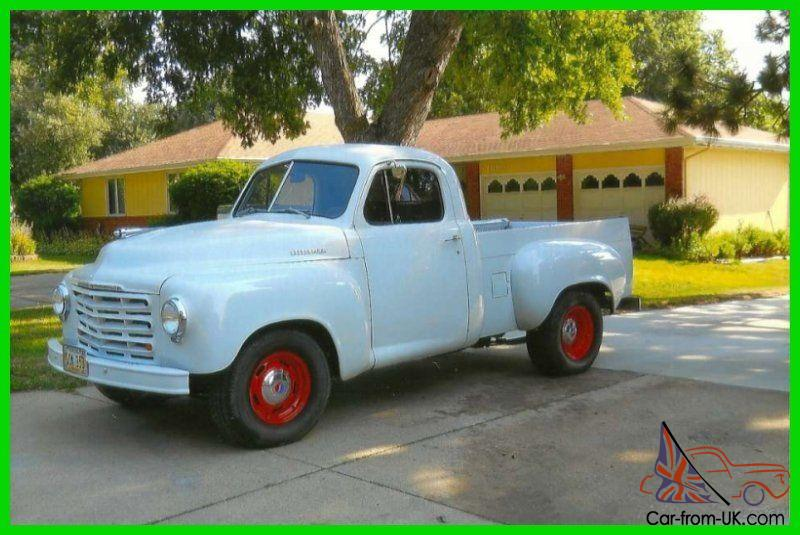 1949 studebaker pickup 305 chevy engine a c only 200 miles. Black Bedroom Furniture Sets. Home Design Ideas