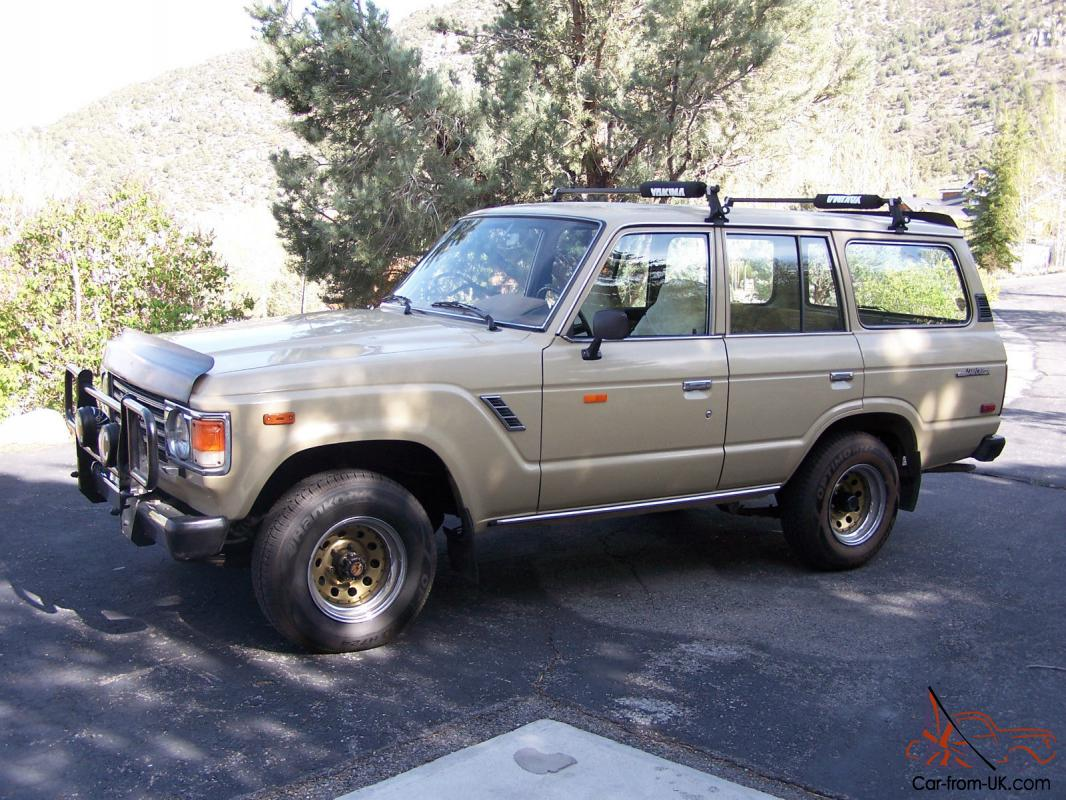 1984 Toyota Land Cruiser Fj 60 Landcruiser 4 Wheel Drive Very Good