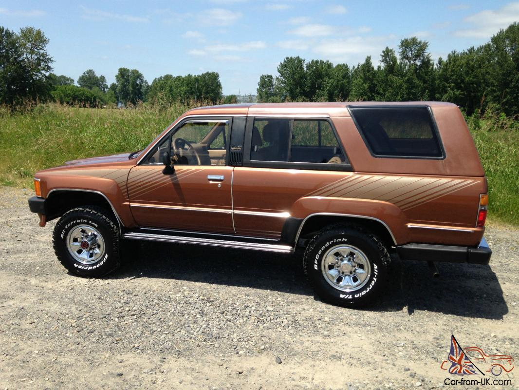 1987 Toyota 4runner 4x4 Original Condition 61 412