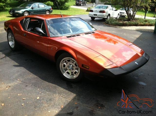 Ford Pantera Project Car For Sale >> Ford Pantera L
