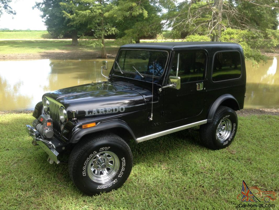 You are bidding on one of the Best optioned . un-restored. Running and driving CJ7 Jeeps on the world wide web. This is a fantastic Jeep with the best ...