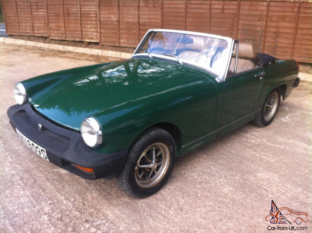 mg midget 1500 twin carb restored example new mot. Black Bedroom Furniture Sets. Home Design Ideas