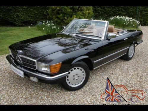 mercedes benz sl 380 petrol automatic 1984 a. Black Bedroom Furniture Sets. Home Design Ideas