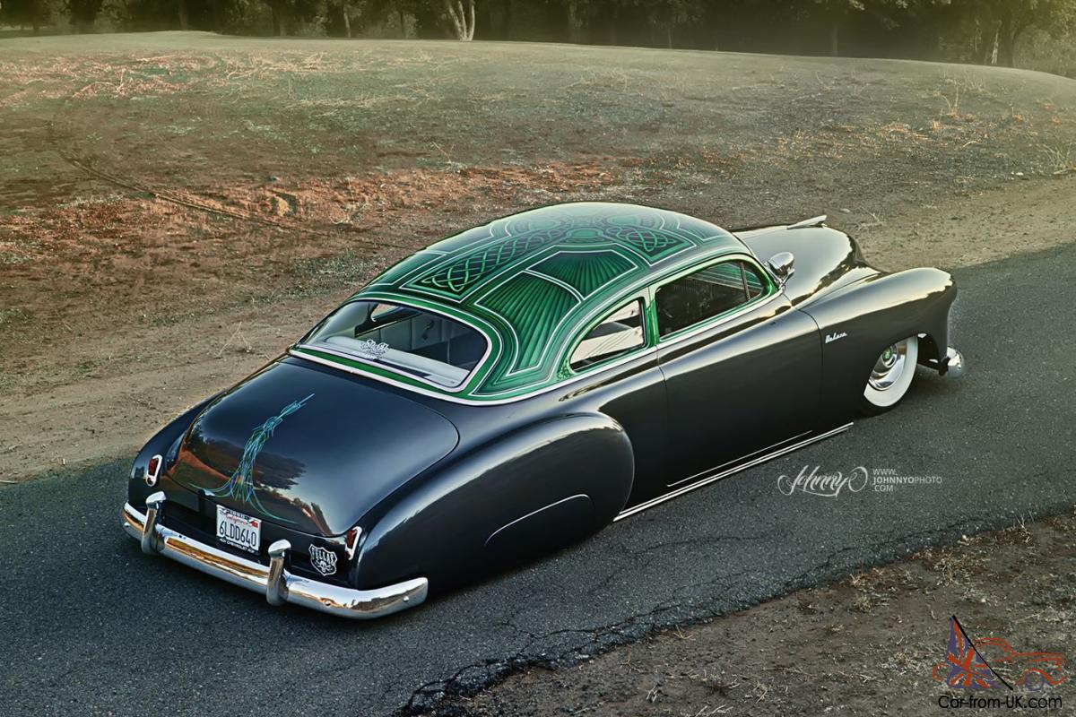 1950 Chevy Deluxe Kustom Chopped amp Bagged FullResto