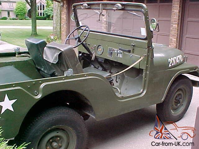 Used Cars For Sale Germany Military: Made In Toledo, Ohio By Kaiser Jeep (Germany Military