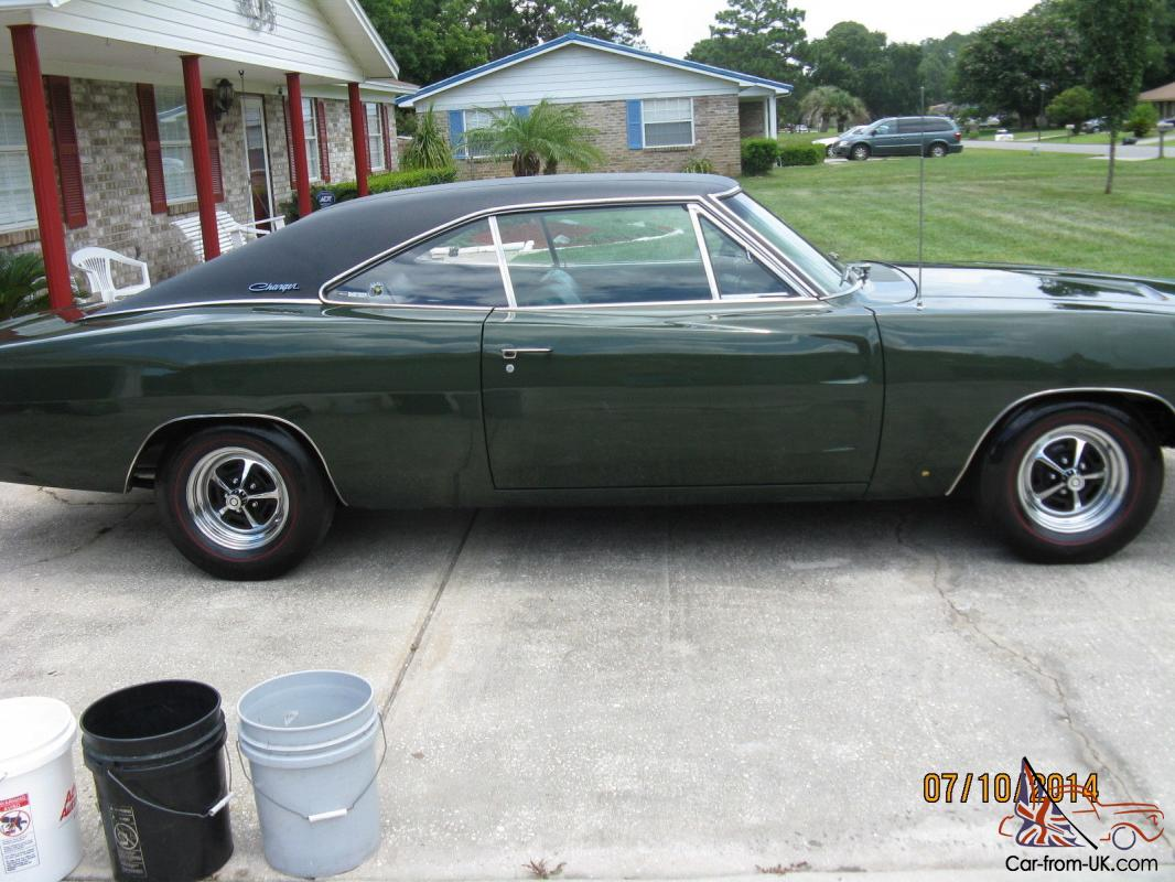 Real Not Clone 1968 Dodge Charger R T Matching 440