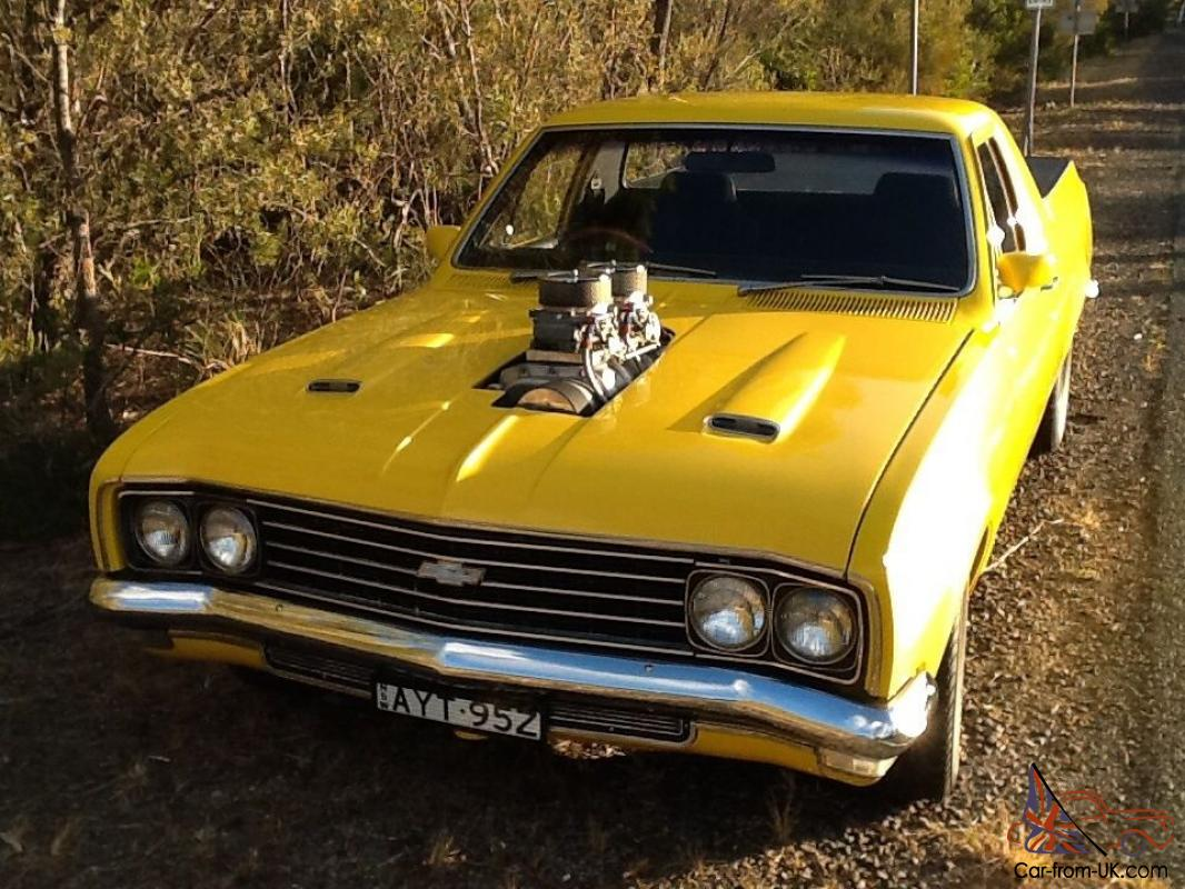 HT Belmont UTE Blown 6 71 350 Chev Muncie 4SPEED HT NOT HK HG Monaro