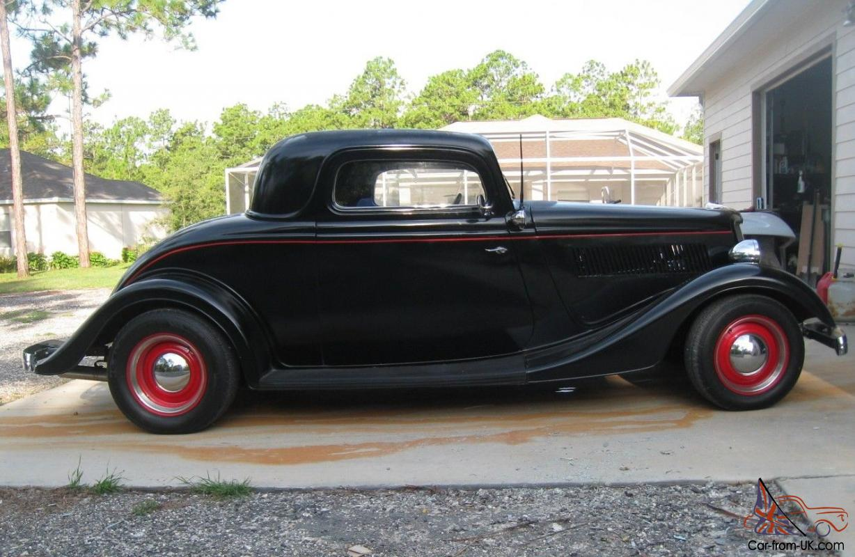 1934 hot rod ford v8 coupe. Black Bedroom Furniture Sets. Home Design Ideas