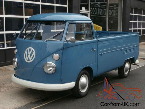 volkswagen t1 split sreen pick up 1966. Black Bedroom Furniture Sets. Home Design Ideas