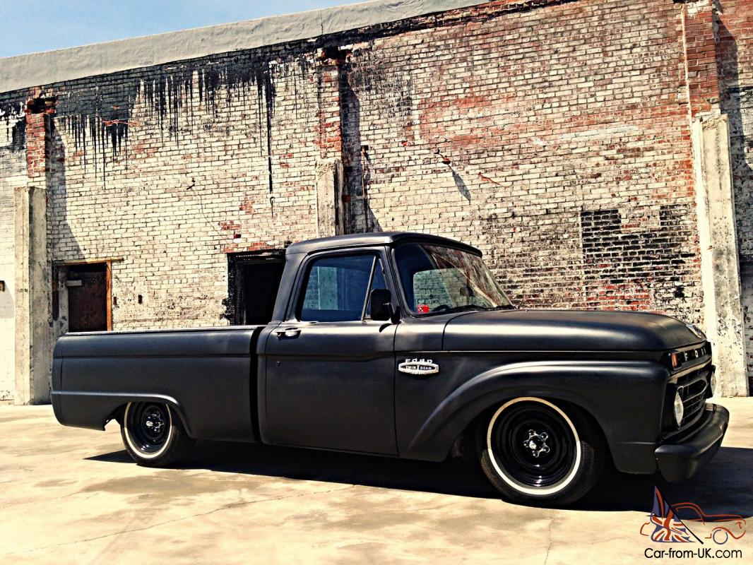Kustom Rat Rod Fuel Injected Shop Truck Patina